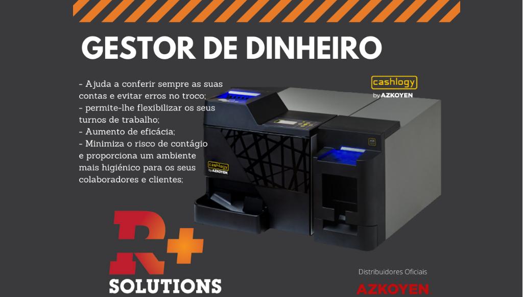 R+ Solutions apresenta sistema Cashlogy