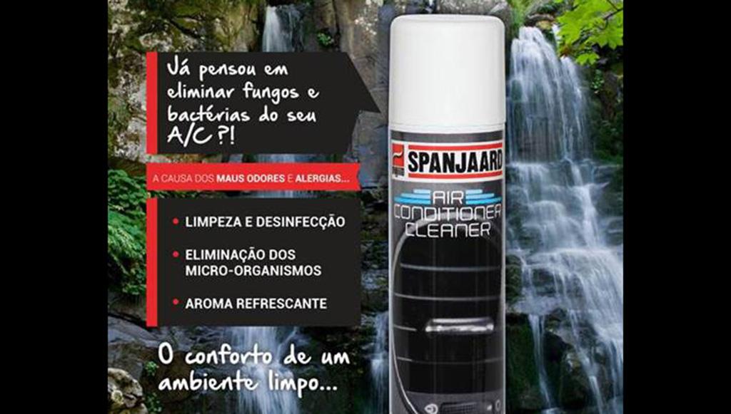 SPANJAARD apresenta AIR CONDITIONER CLEANER