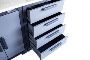 KROFtools apresenta novo armário de trabalho