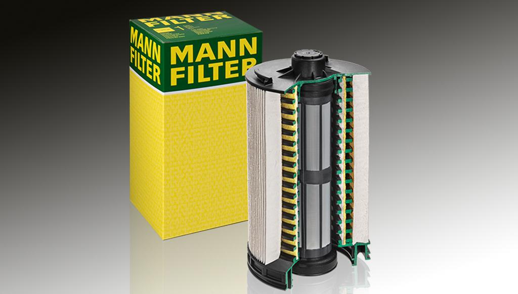 MANN-FILTER lança um novo filtro de combustível para pesados