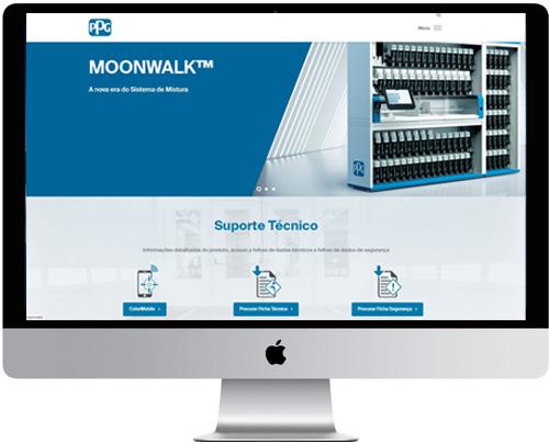 PPG otimiza experiência do utilizador com site renovado