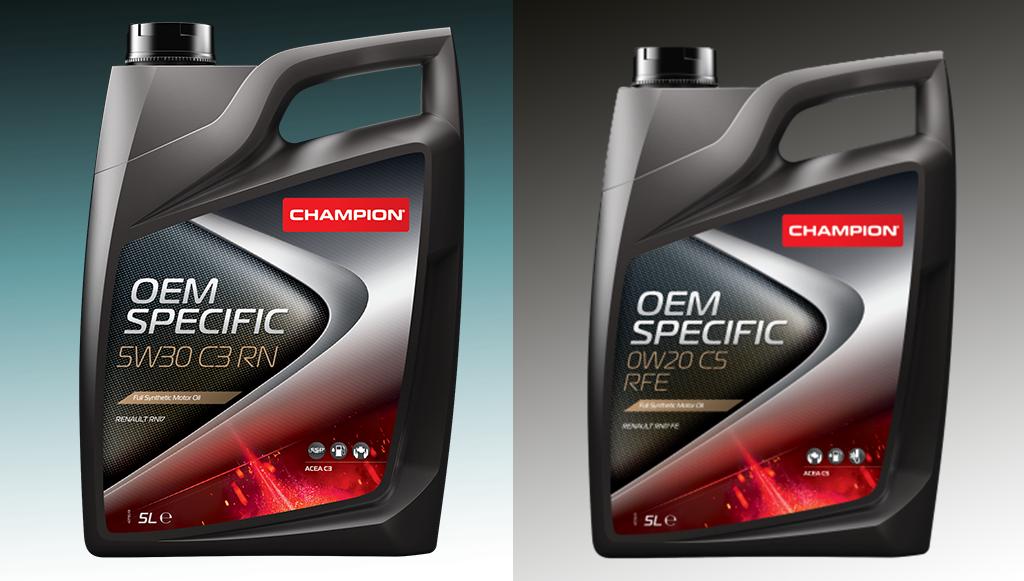 Champion lança novos lubrificantes com aprovação Renault