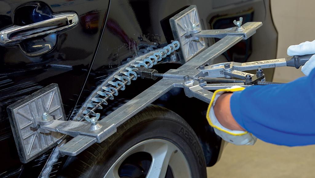 Reparação de painéis de carroçarias