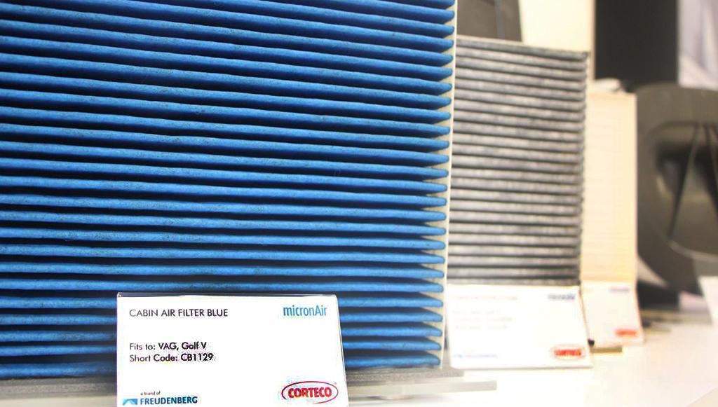 Corteco oferece filtros com valor antiviral adicional