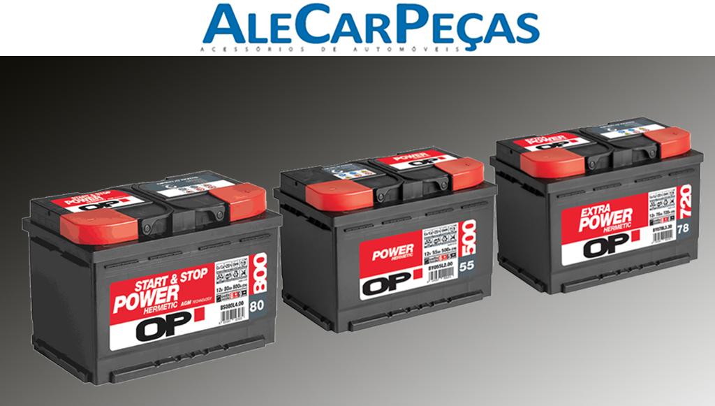 AleCarPeças lança gama de baterias OPEN PARTS