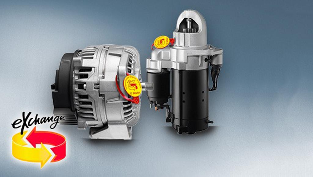 Bosch eXchange flexibiliza critérios devolução de cascos