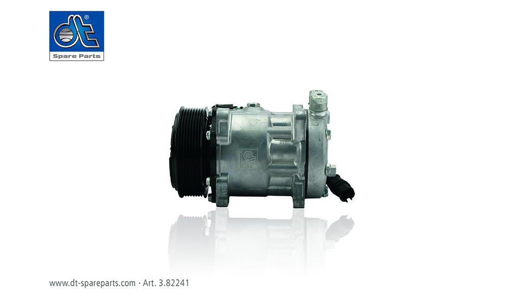 DT Spare Parts destaca compressor ar condicionado
