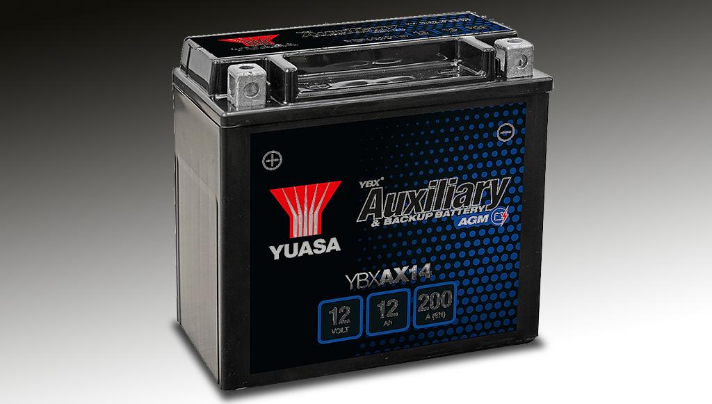 Yuasa lança nova bateria auxiliar YBXAX14