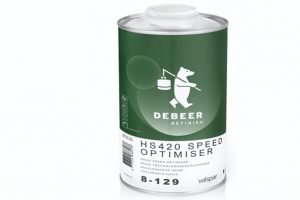 DeBeer Refinish desenvolve secador rápido de verniz