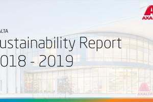 Relatório de Sustentabilidade Axalta já disponível