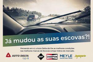 Auto Delta promove Campanha Escovas Limpa-Vidros