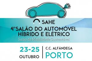 4º Salão Automóvel Híbrido e Elétrico de 23 a 25 de Outubro