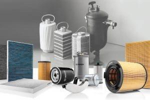 90 anos de filtros de combustível Bosch