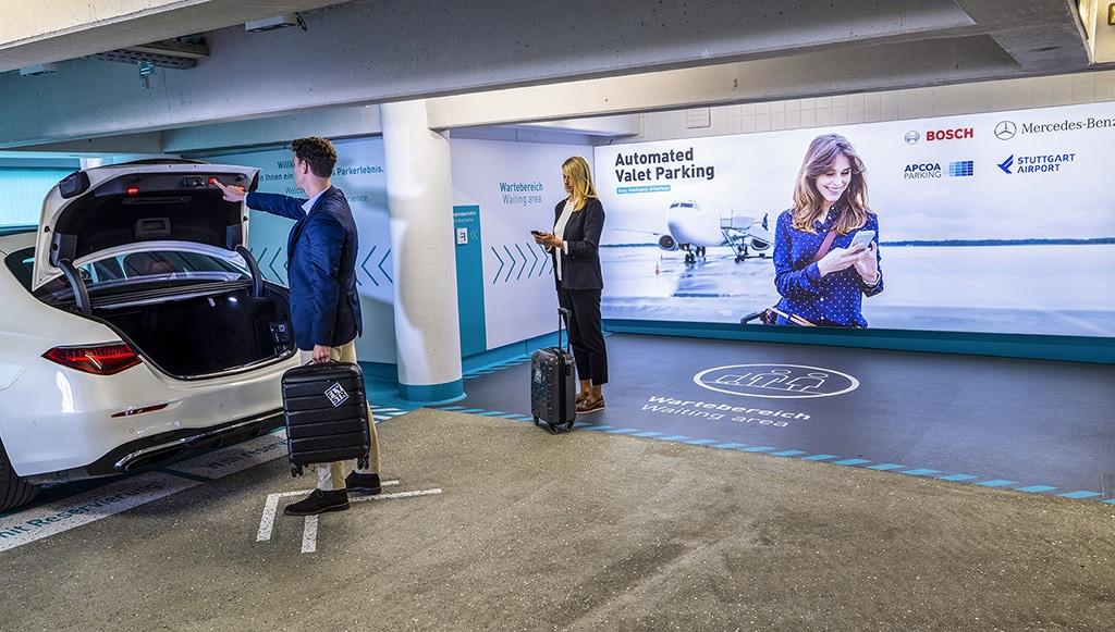 Aeroporto de Stuttgart passa a ter estacionamento automatizado