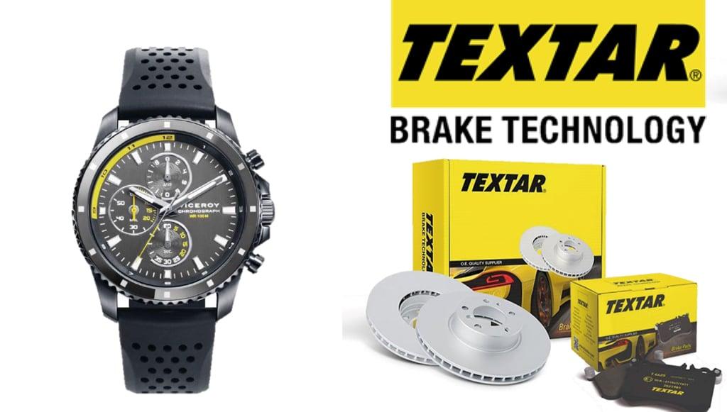 Campanha Textar com oferta exclusiva de relógio