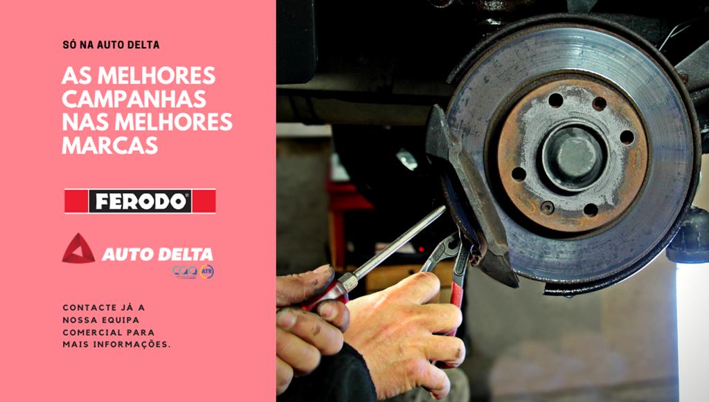 Auto Delta promove produtos Ferodo