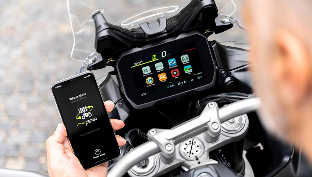 Bosch desenvolve ecrã dividido para motociclos