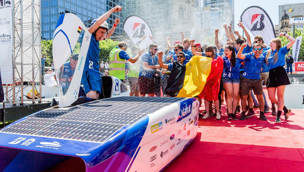 Cromax apoia equipa campeã do Bridgestone World Solar 2019